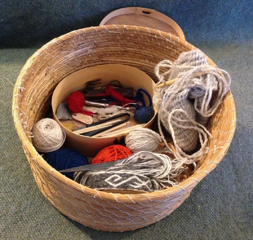 Norse workbasket