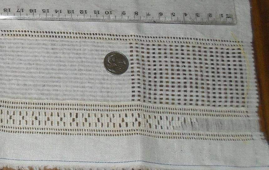Drawn thread towel
