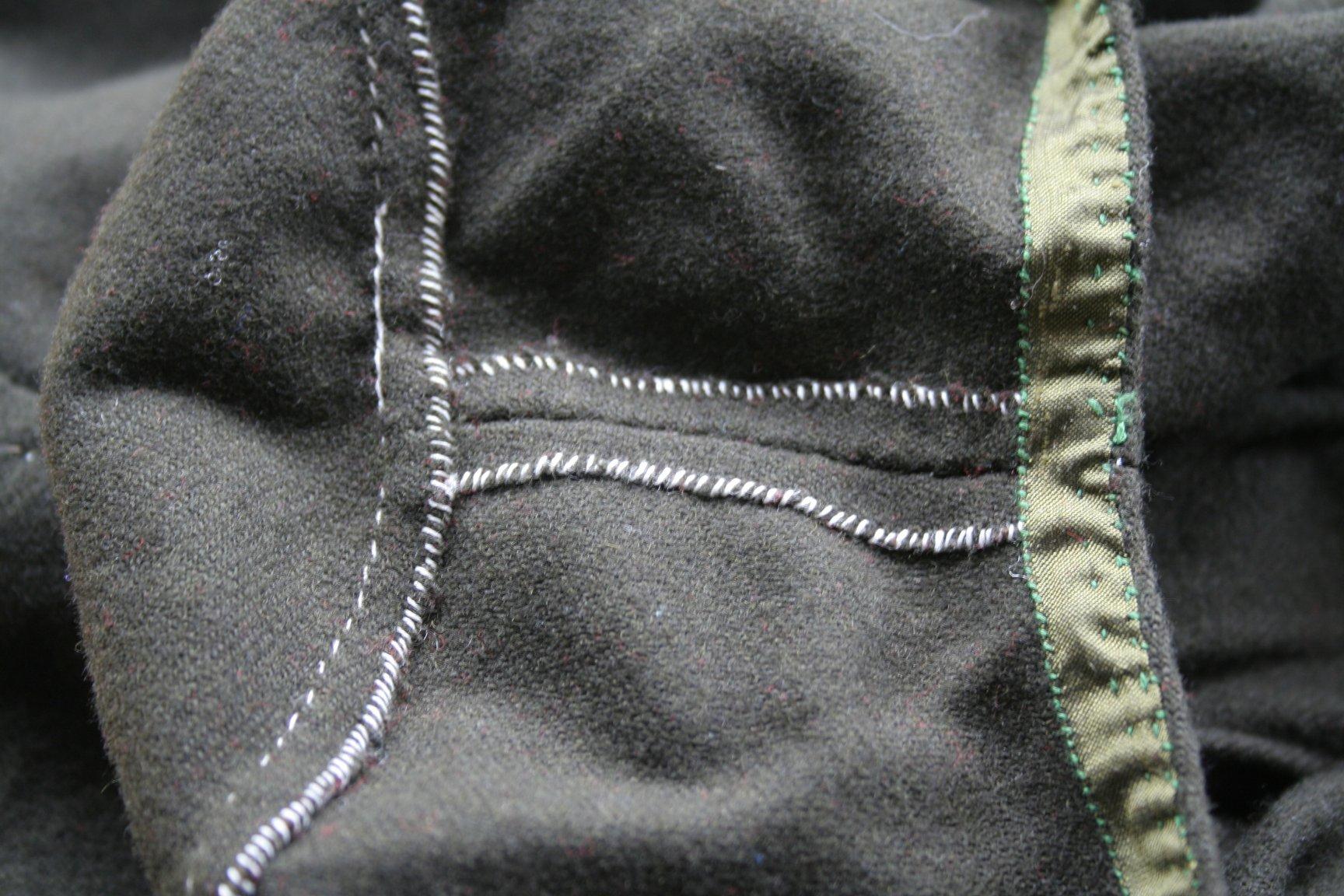 Handsewn tunic