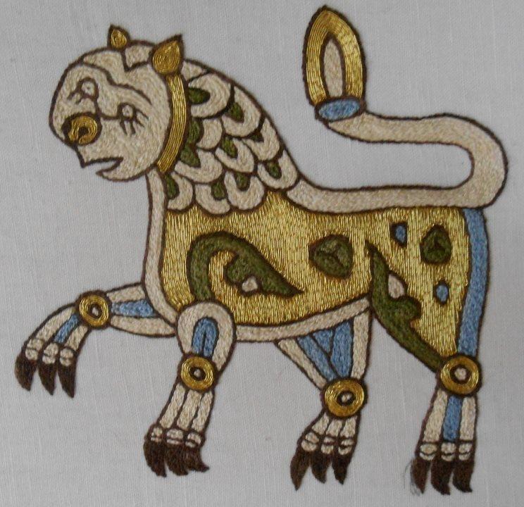 Mamluk lion
