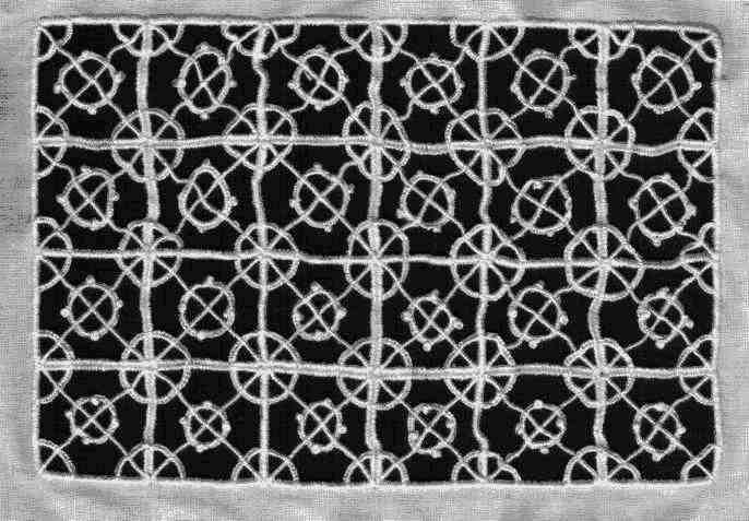Reticello lace