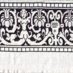 Embroidered handtowel