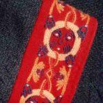 Viking woolwork cuff