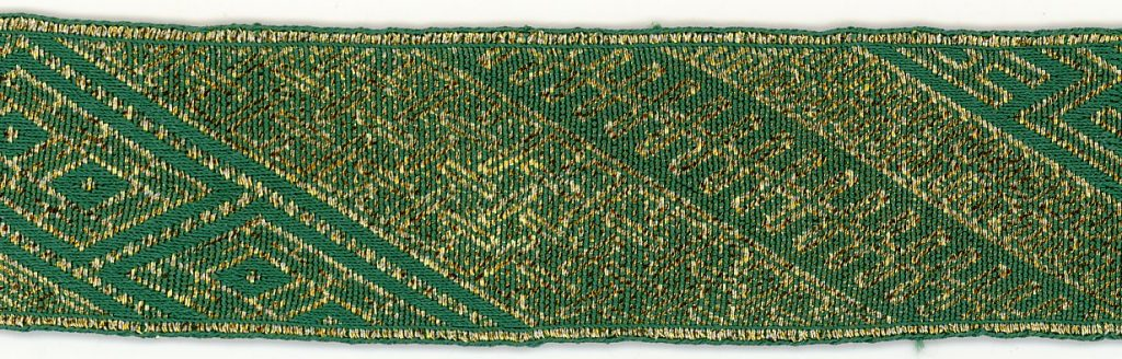 Tablet woven braid